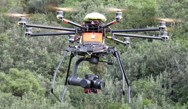 gimbal drone banner